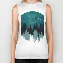 Northern pines Biker Tank