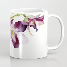 Radiant Orchids: Magenta Dendrobiums Coffee Mug