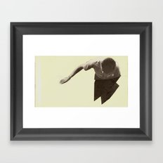 Look Away Framed Art Print