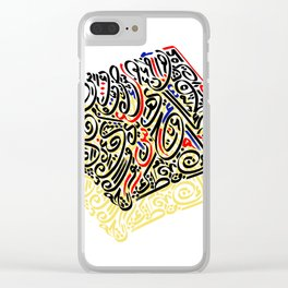 Arabic Calligraphy 1 Clear iPhone Case