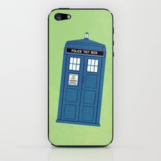 DOCTOR WHO. iPhone & iPod Skin
