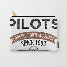 Pilot Proud Aviation Lover Gift Idea Carry-All Pouch