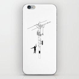 Tokyo Electric Pole iPhone Skin