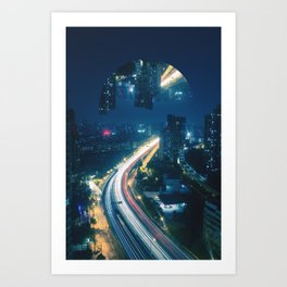 Somewhere Out There Art Print