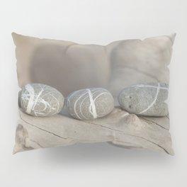 Zen pebbles lineup Pillow Sham