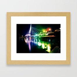 Provencher Bridge Framed Art Print