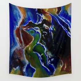 Good Luck Series: A vibrant glory Wall Tapestry