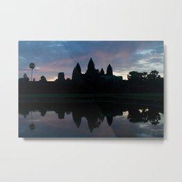 Angkor Wat Dawn Metal Print