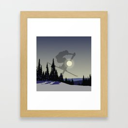 Touch The Morning Sun - Square | DopeyArt Framed Art Print