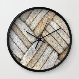 Diamond Knots Wall Clock
