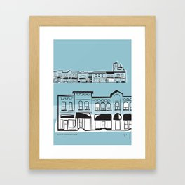 Quebec St Framed Art Print