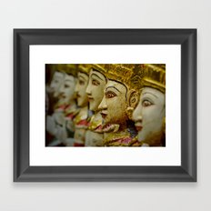 Stand Out in the Crowd Framed Art Print
