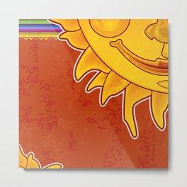 Sunny Arizona Metal Print