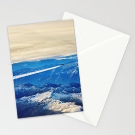Airplane above the Clouds I Stationery Cards