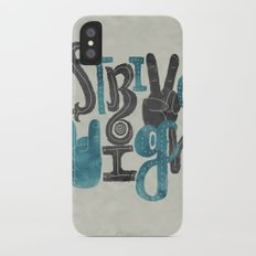 Strive High iPhone X Slim Case