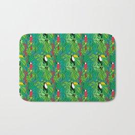 Tropical Birds Bath Mat