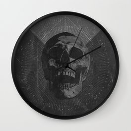 Speak no words Wall Clock