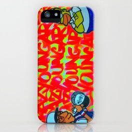 Crazy Young Artist iPhone Case