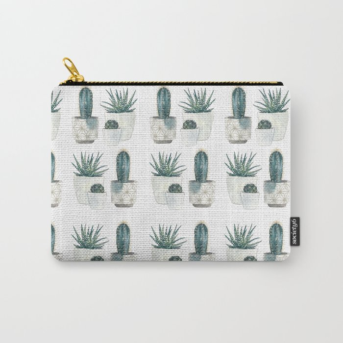 Caci and succulents Carry-All Pouch