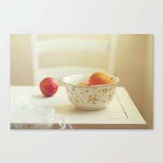 Tasty afternoon Canvas Print