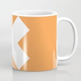 X WHITE Coffee Mug