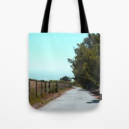Road to the Beach Tote Bag