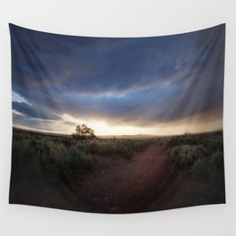 New Mexico Sunset Wall Tapestry