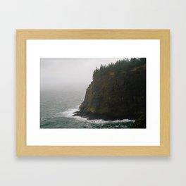 Oregon Coast: III // Oregon Framed Art Print