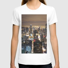 Chicago By Night T-shirt