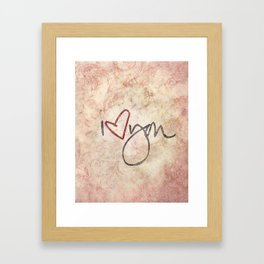 I love you more... every day - 01 (3 piece set) Framed Art Print