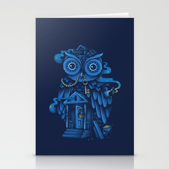 Guardian of the Night Stationery Cards
