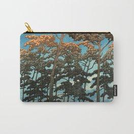 Hikawa Park, Omiya by Kawase Hasui - Japanese Vintage Woodblock Ukiyo-e Painting Carry-All Pouch