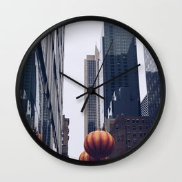 Thanksgiving Day Parade-Pumpkin Wall Clock