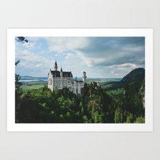 Castle dreaming Art Print