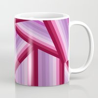 gradient Mugs featuring Gradient by Louise Machado