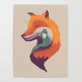 Foxy Breeze Poster
