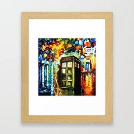 Time Lord Framed Art Print