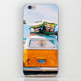 Van — Surf, Beach iPhone Skin