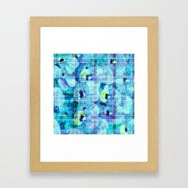 flower kirsche kaleidoskope Framed Art Print
