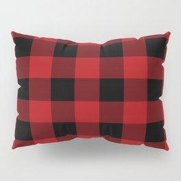 Red & Black Buffalo Plaid Pillow Sham