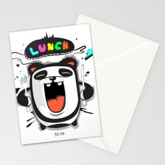 PANDA LUNCH TIME! Stationery Cards