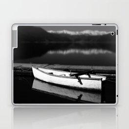 White boat Laptop & iPad Skin