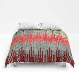 Sivas Antique Turkish Kilim Print Comforters