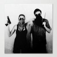 studio killers Canvas Prints featuring Killers by Brandon Juarez