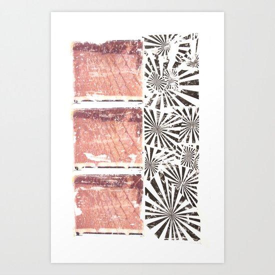 RETRO7 Art Print