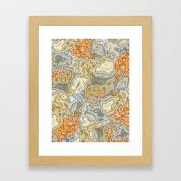 Topography 1 Framed Art Print