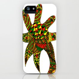 Finger Palm Tree iPhone Case