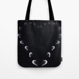 The Hart of Harts Black & White Tote Bag
