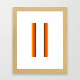 Harvest Rainbow - Straight Framed Art Print