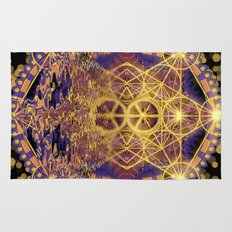 Geometry Peace Reflections Rug